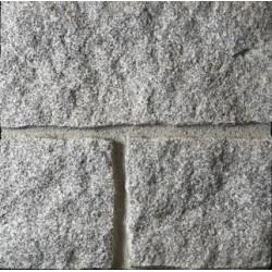 Granito gris corte cantera