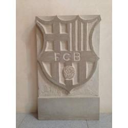 Escudo de piedra FCB